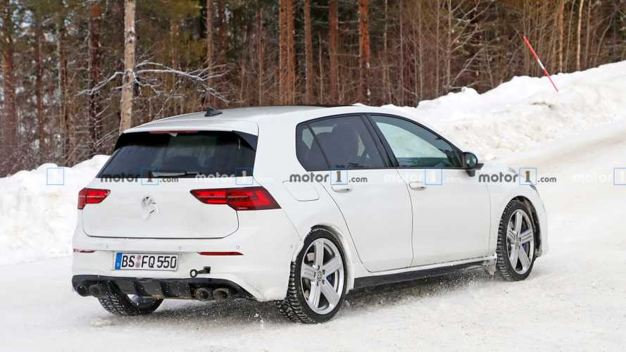 Neuer VW Golf R (2020) als Erlkönig