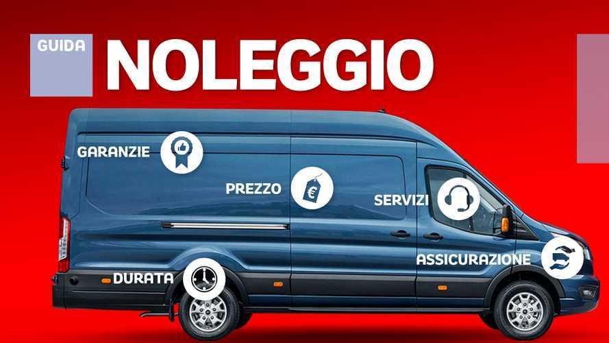 Noleggio furgoni, offerte e costi delle società specializzate