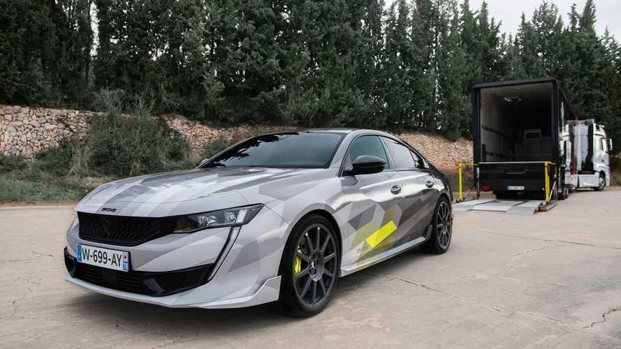 Peugeot dévoile de nouvelles photos de sa 508 Peugeot Sport Enginereed