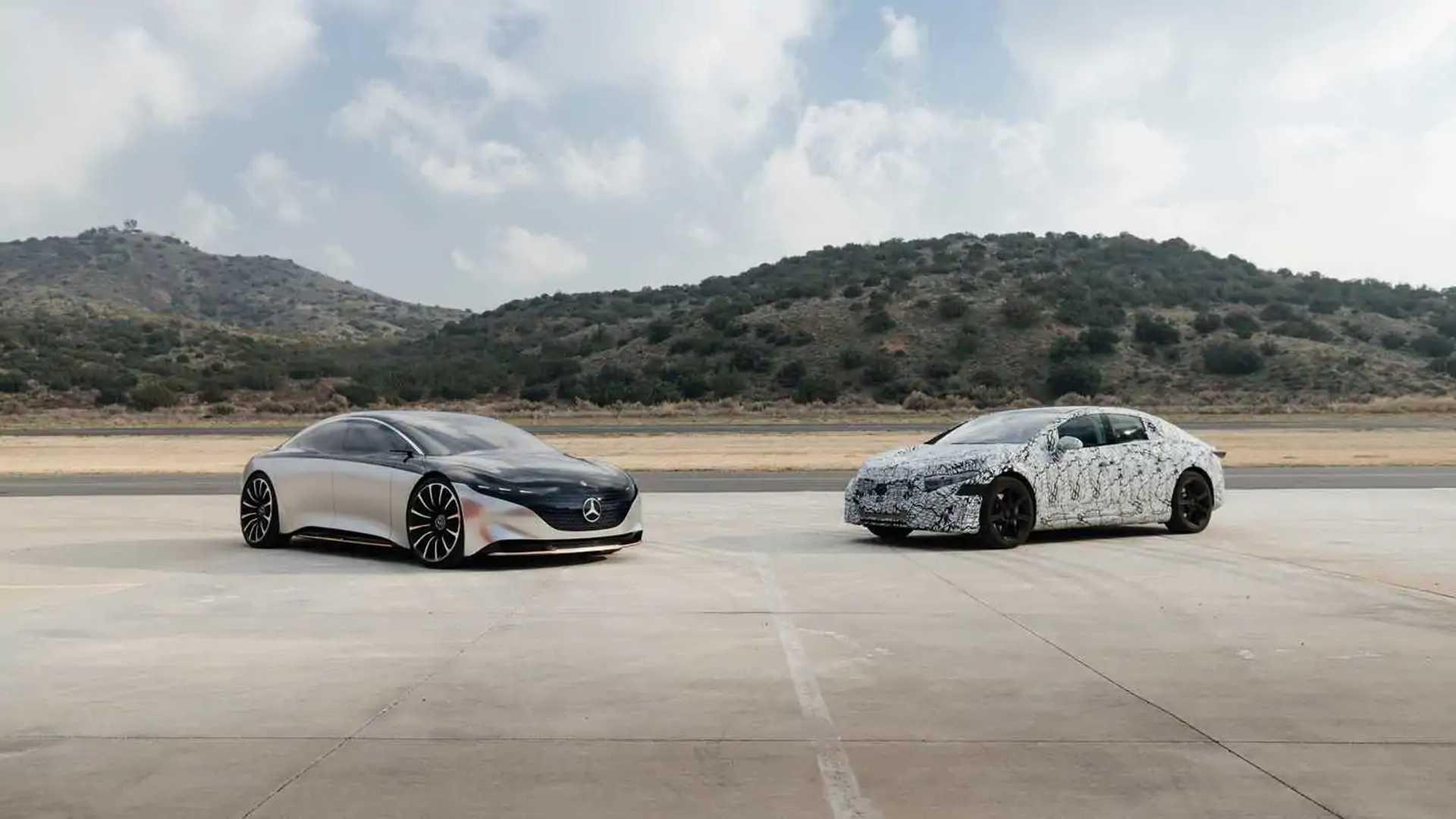 2022 Mercedes-Benz EQS 22