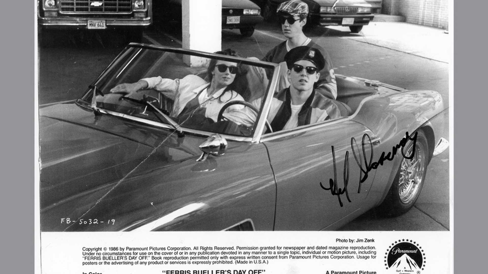 "[""Hero Car From 'Ferris Bueller's Day Off' Up For Grabs""]"