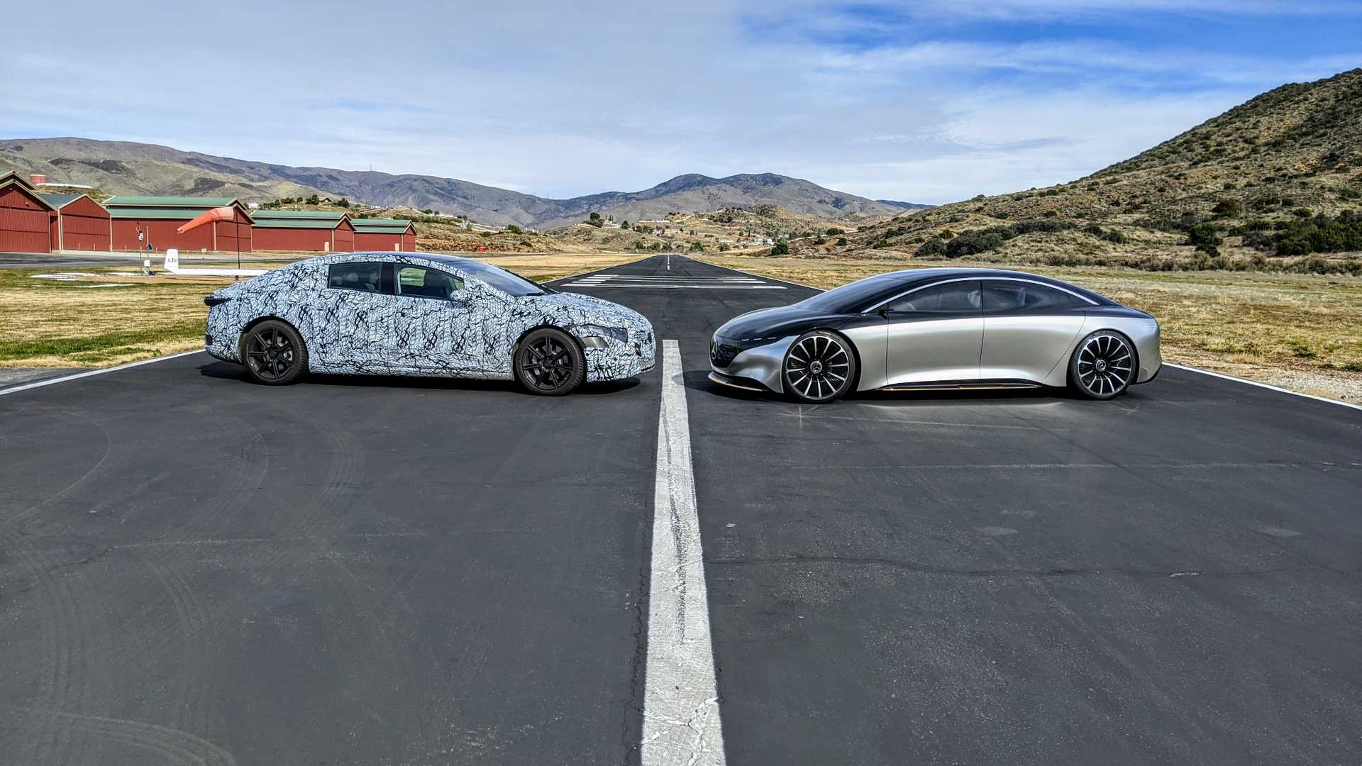 2022 Mercedes-Benz EQS 20