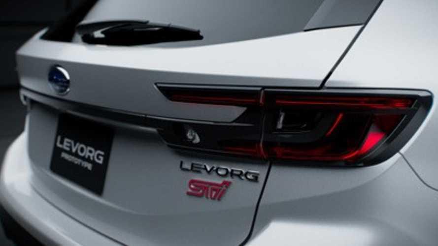 Subaru Levorg STI Sport Teased Before Tokyo Auto Salon