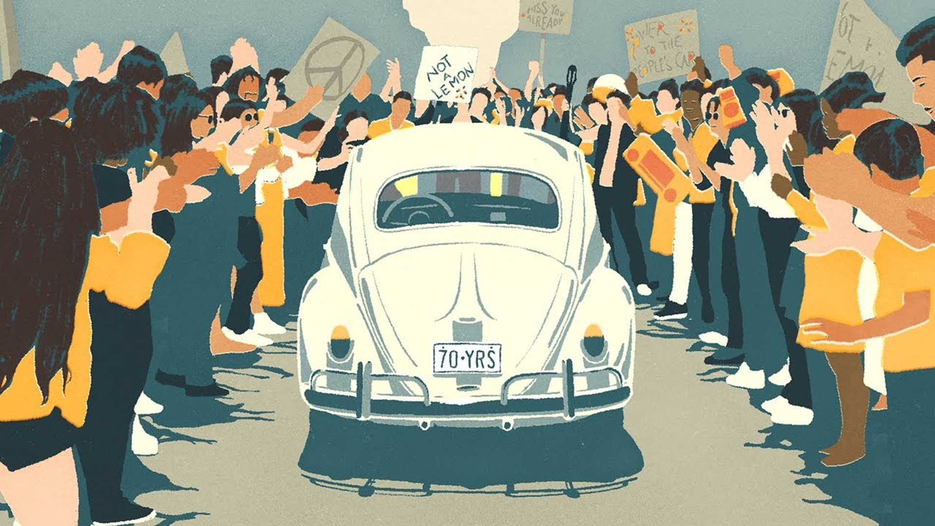 VW says goodbye to the Beetle with emotional video