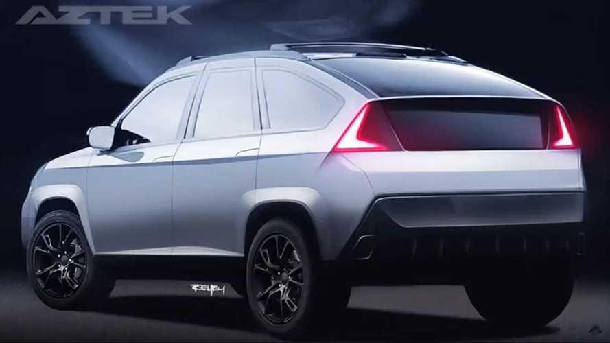 Pontiac Aztek daha yakışıklı bir SUV olarak hayal edildi