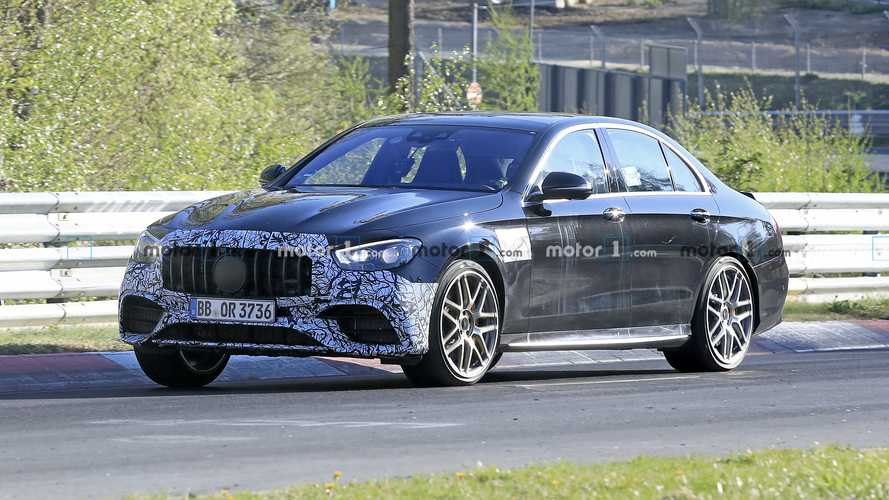 2021 Mercedes-AMG E63 Caught Testing Hard At The 'Ring