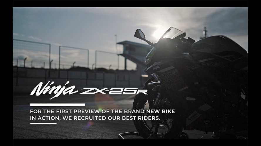 Watch The New Kawasaki ZX-25R Sprint Into Action At Jerez