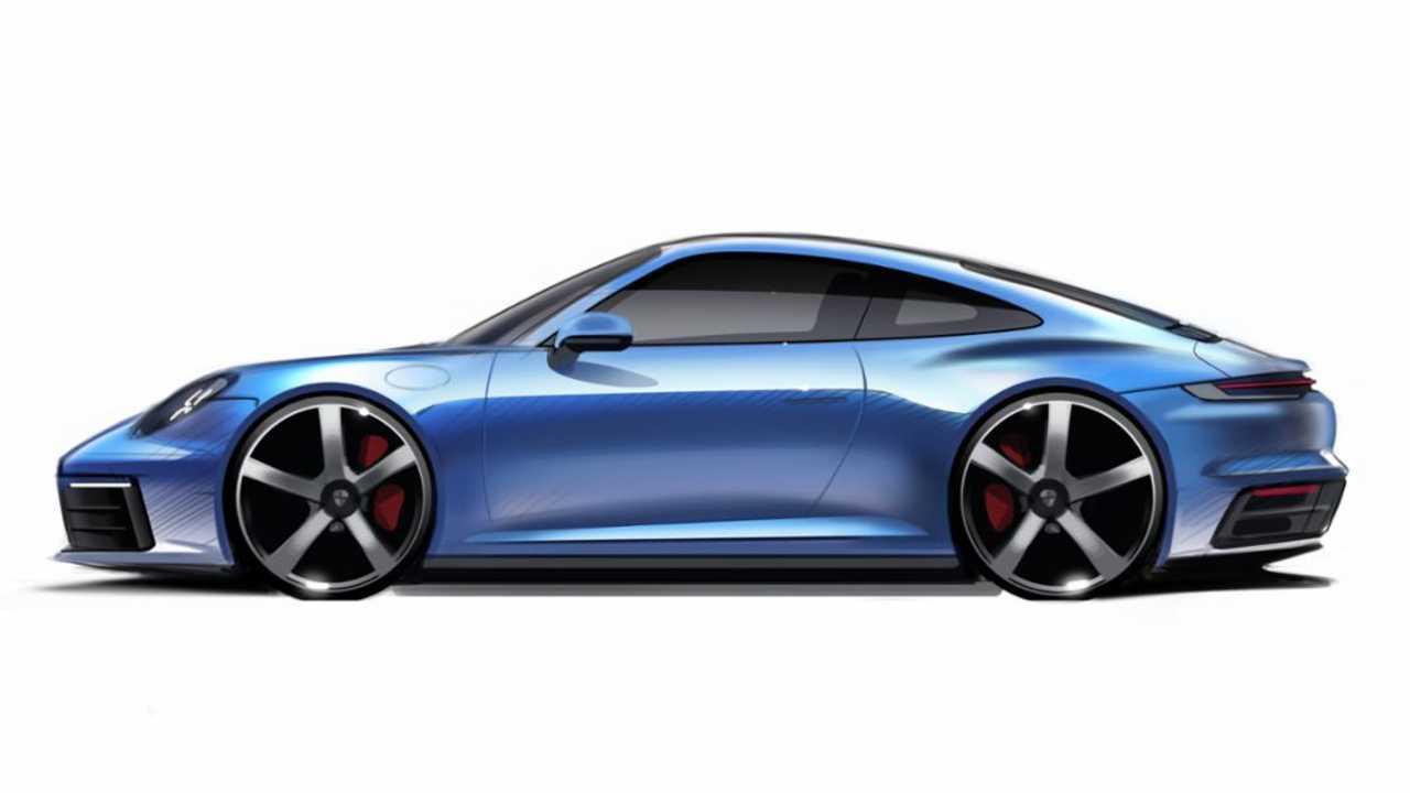 Esquisse Porsche 911