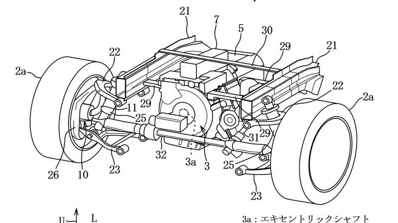 Mazda Rotary Engine Hybrid Patent