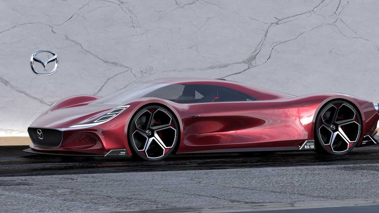 Mazda RX-10 Rendering By Maximilian Schneider