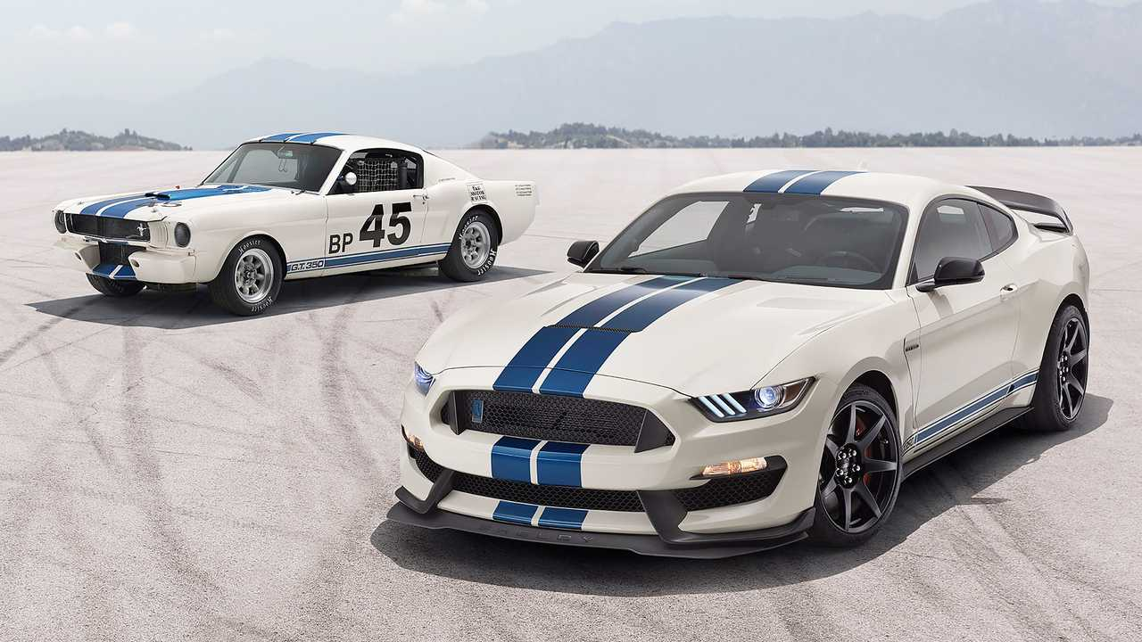 Ford Mustang GT350 Heritage Edition