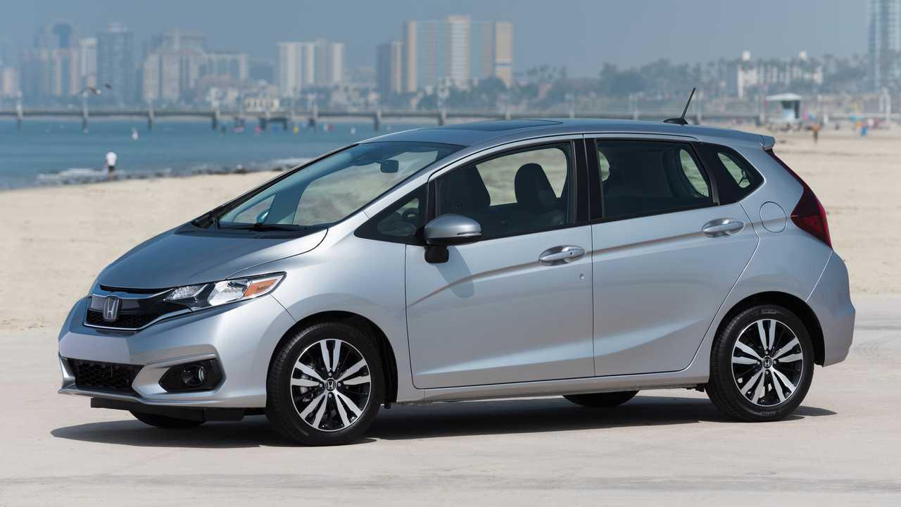 4. 2020 Honda Fit LX