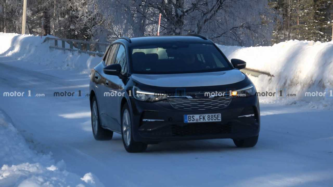 VW I.D. 4 spied in Sweden with Opel grille isn't fooling anyone
