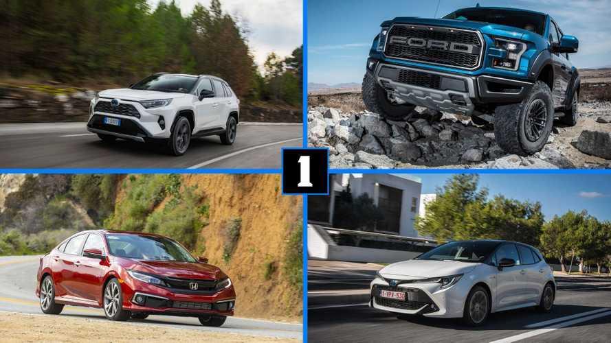 10 самых продаваемых машин в мире