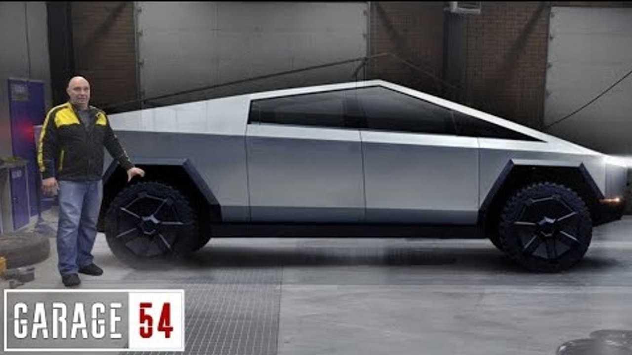 Tesla Cybertruck made in Russia