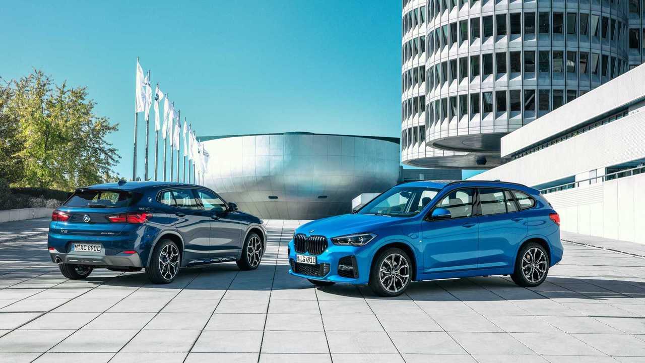 BMW X1 und X2 xDrive25e