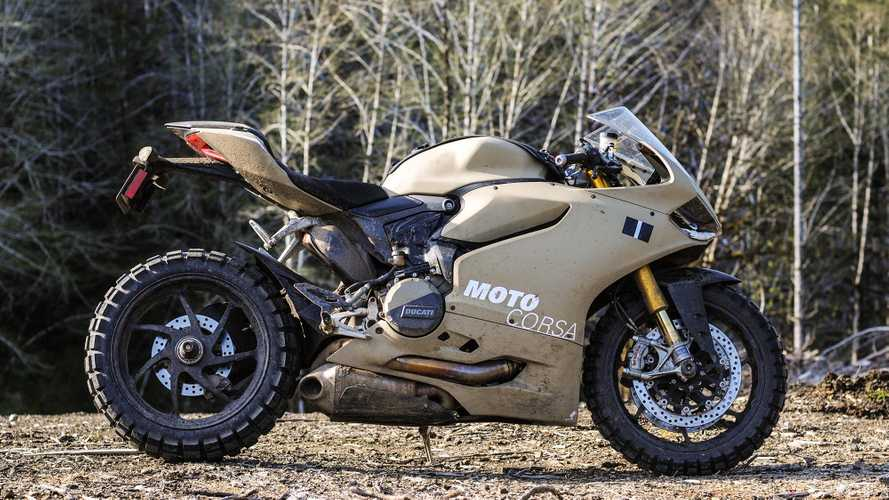 TerraCorsa, la Ducati 1199 Panigale  pronta per l'off-road [VIDEO]