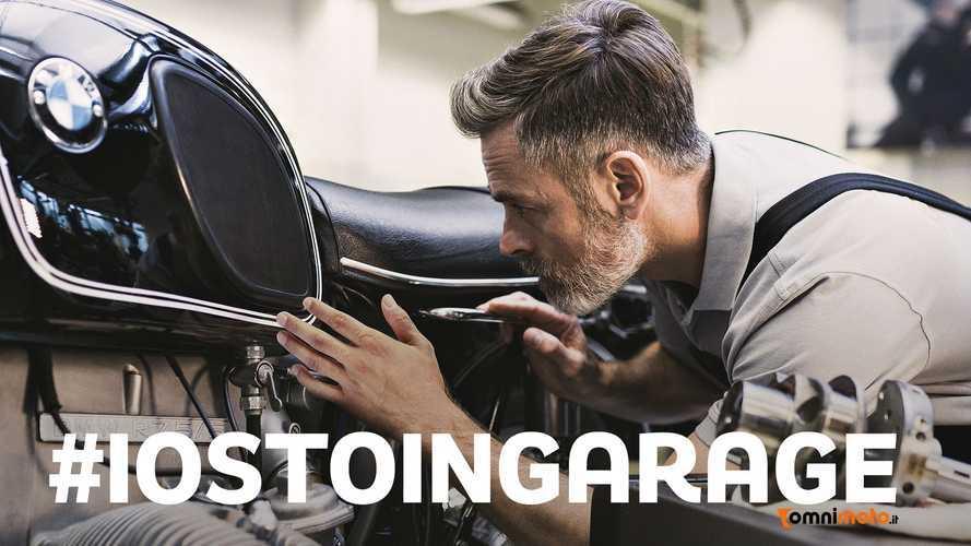 #iostoingarage: la manutenzione moto come anti-stress al Coronavirus