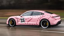 Porsche Taycan In Racing Liveries