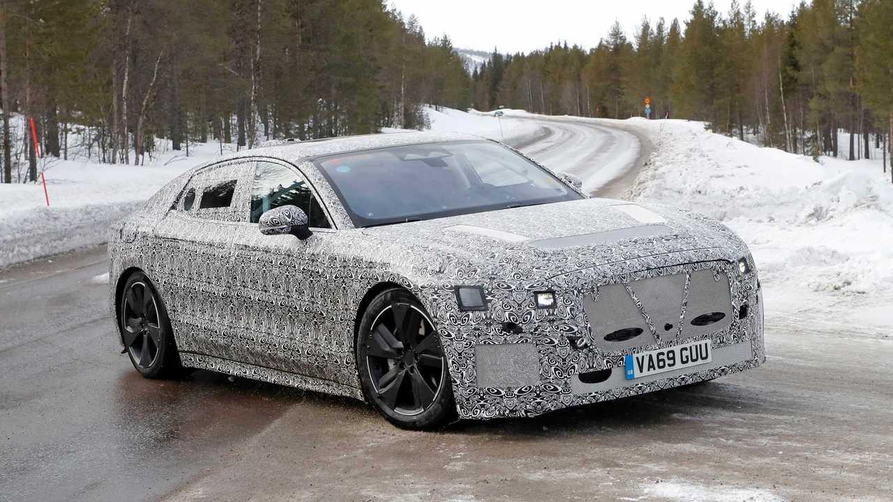Elektrikli Jaguar XJ casus fotoğraflar