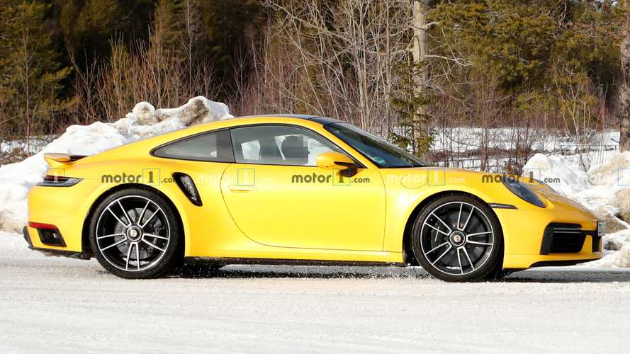 New Porsche 911 Turbo S looks delicious in yellow