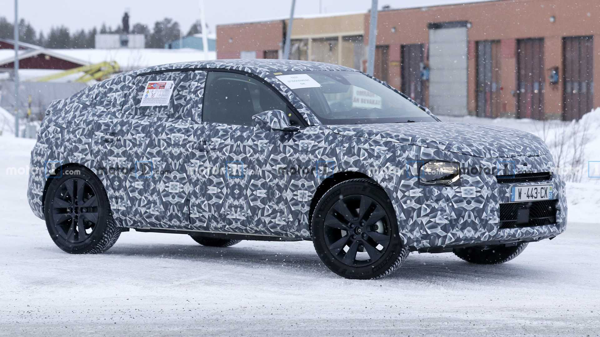 Citroen C4 Cactus replacement spied for first time