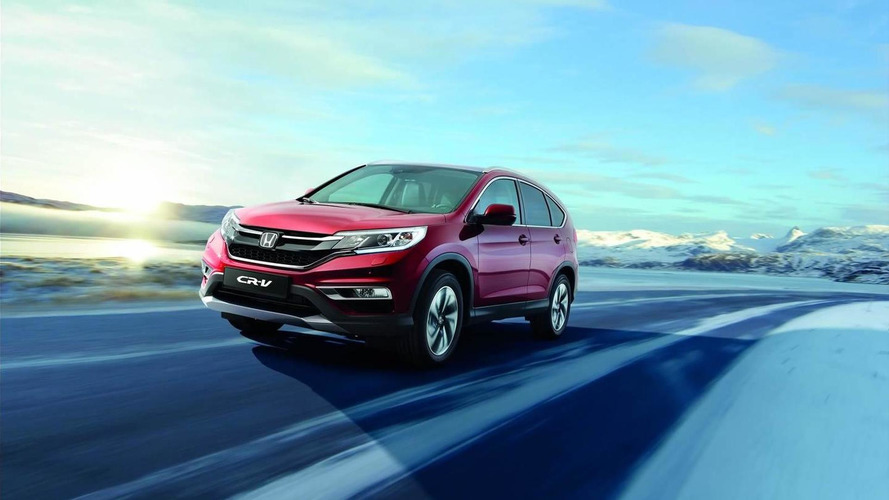Facelifted Honda CR-V Euro-spec on sale spring 2015, new pics released
