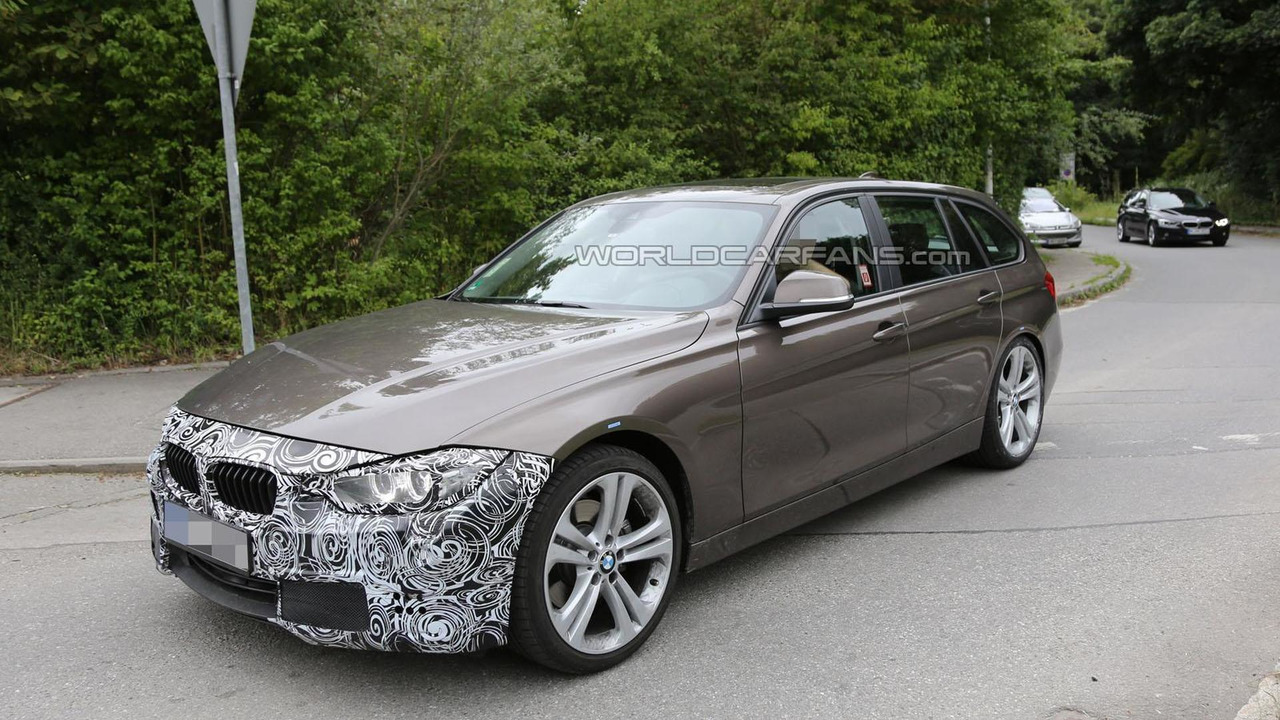 2015 / 2016 BMW 3-Series spy photo