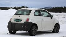 2016 Fiat 500 facelift spy photo