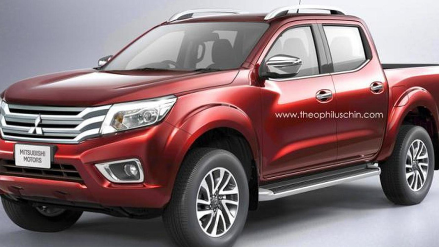 Next-gen Mitsubishi LS200/Triton speculatively rendered