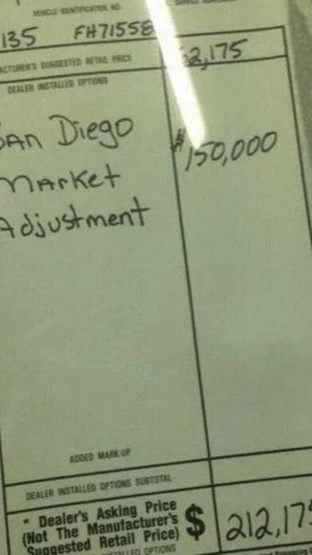 Dealer adds $150 000 markup to Dodge Challenger SRT Hellcat but it s