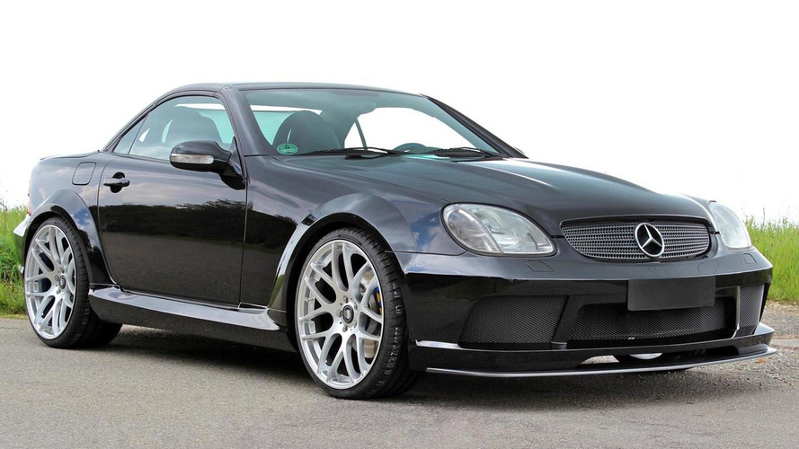 Lumma Tuning freshens up Mercedes-Benz SLK 32 AMG (R170)