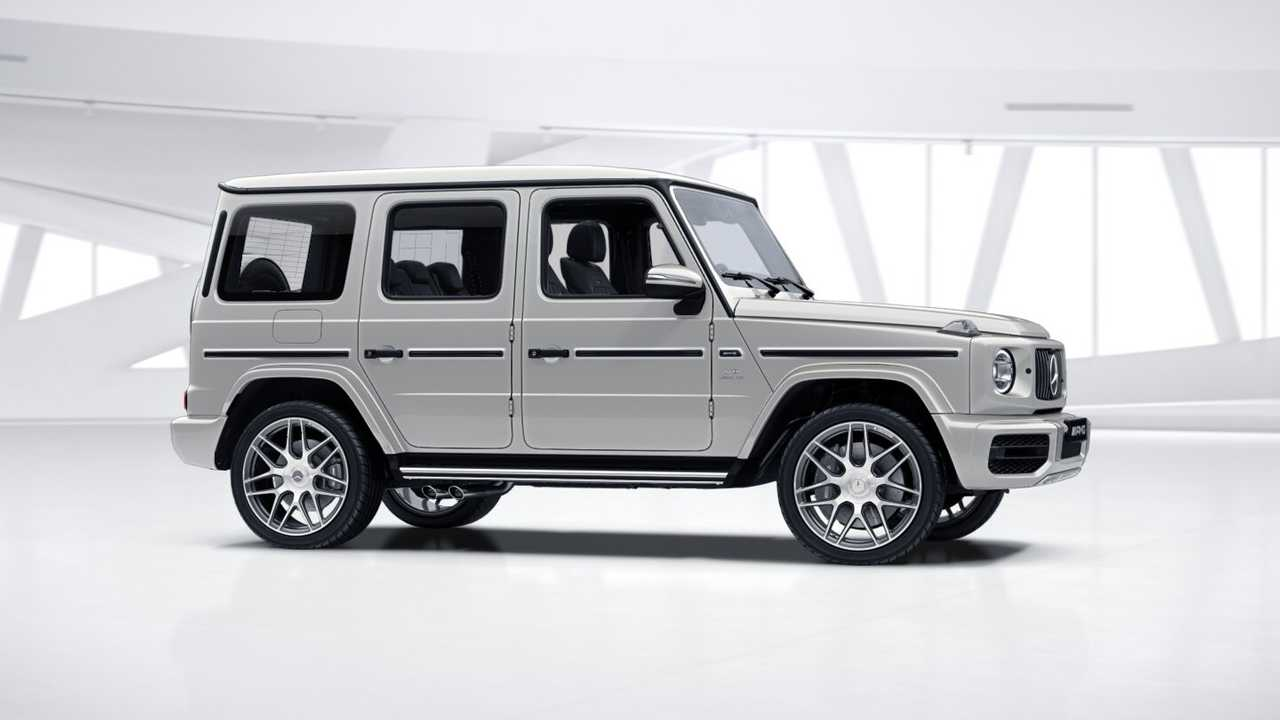 Mercedes G Manufaktur Lets You Create The Perfect G-Class