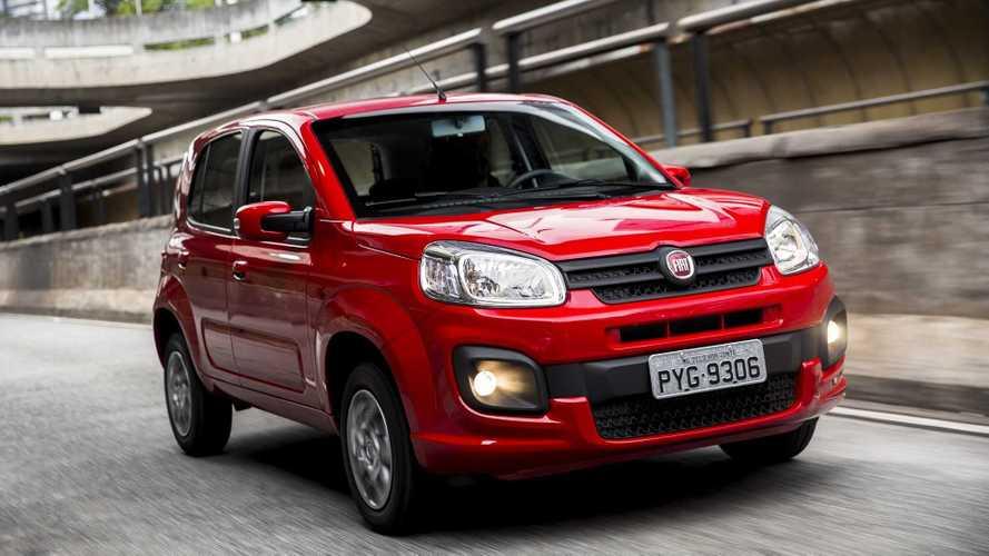 Fiat Uno também fica mais caro em novo reajuste de preços