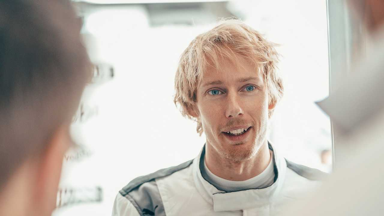 Brendon Hartley (Porsche)