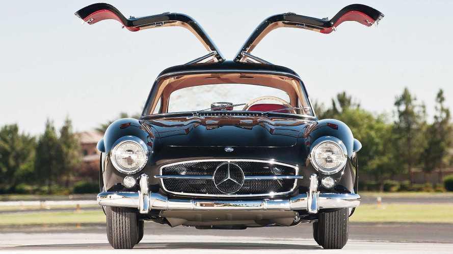"""Auto con portiere ad """"ali di gabbiano"""", le più belle di ieri e di oggi"""