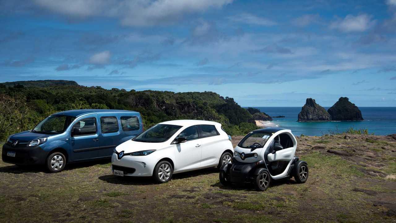 Renault Eletricos Fernando de Noronha