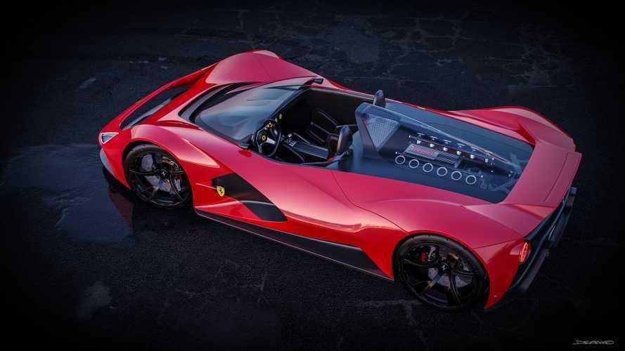 Ferrari Aliante renderkép