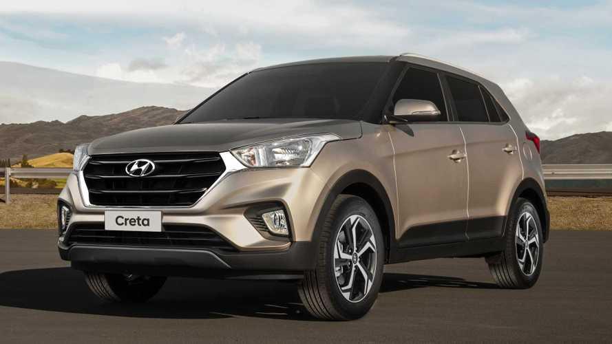 Hyundai Creta é vendido para locadora Movida pela primeira vez