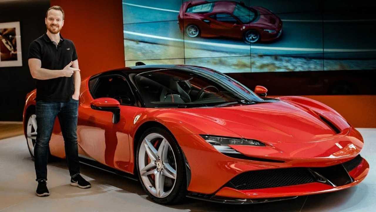 Top Gear Has A Closer Look At The New Ferrari Sf90 Stradale