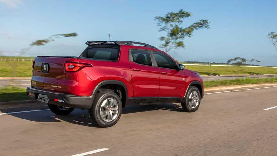Picapes mais vendidas em novembro: Fiat Toro tem melhor resultado de 2020