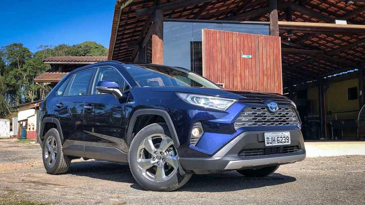 Toyota RAV4 Hybrid SX 2020 (BR)