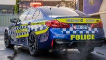 El BMW M5 Competition de la policía australiana