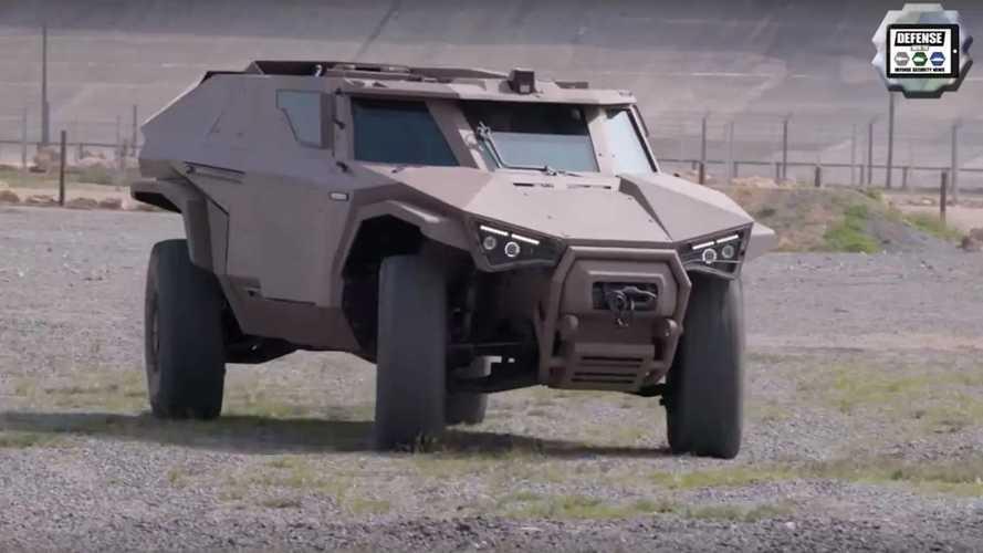 Volvo Grubu'nun Yeni Savunma Aracı Arquus Scarabee