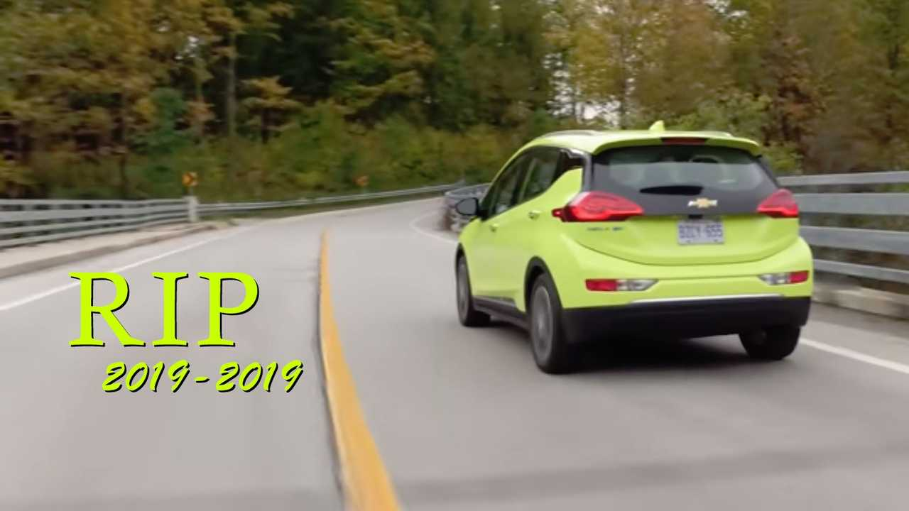 2020 Chevy Bolt Getting A Few Updates And One Shocking ...