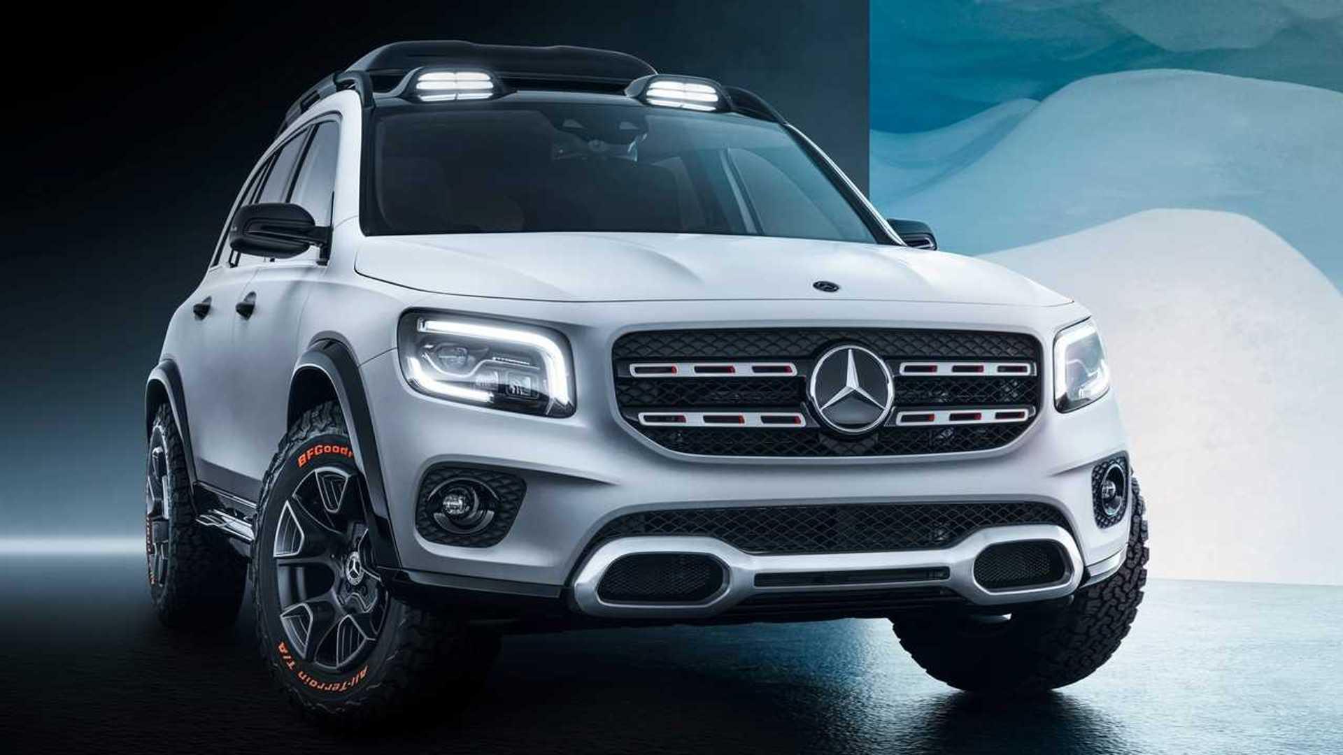Le Mercedes GLB sera présenté cet été, l'EQB en 2021