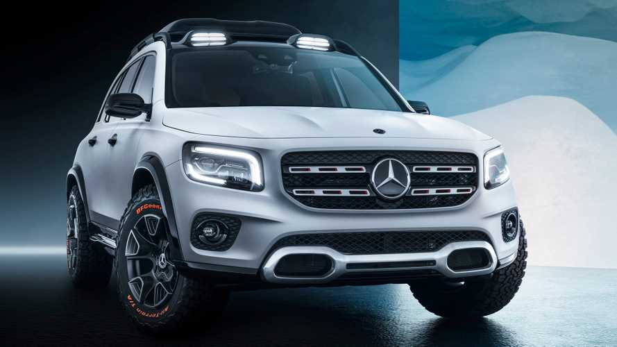 Mercedes Concept GLB concept revealed practically production ready