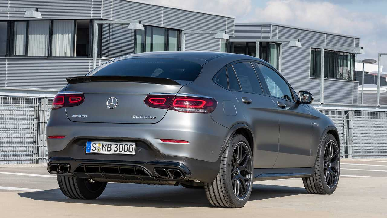Mercedes-AMG GLC 63 Coupe (2019)