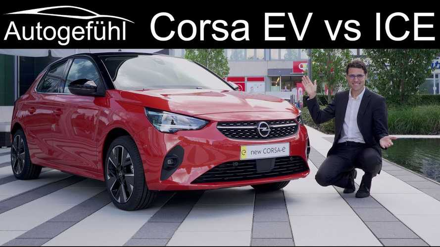 Vauxhall Corsa-e exterior and interior walkthrough video