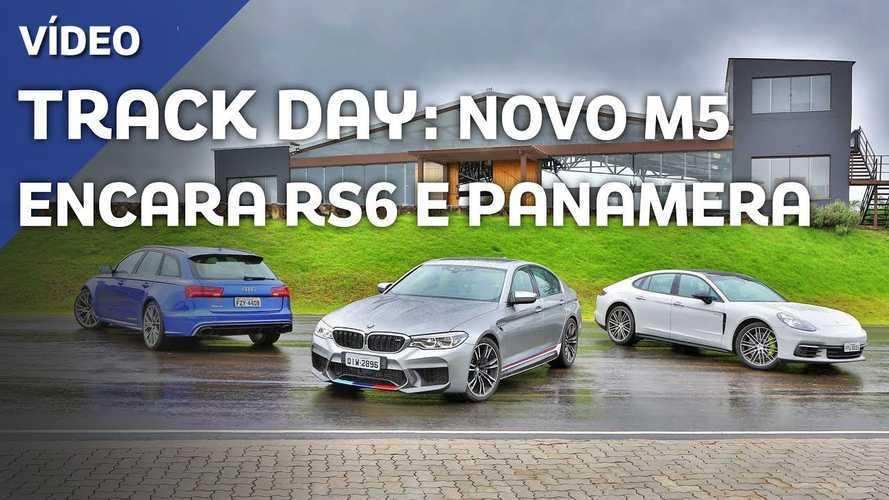 Vídeo: Na pista com novo BMW M5, Audi RS6 e Porsche Panamera